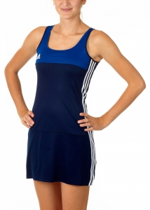 adidas T16 Clima Cool Dress Damen navy blau -royal blau AJ5262