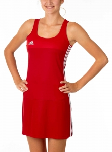 adidas T16 Clima Cool Dress Damen power rot/ scarlet rot AJ5263