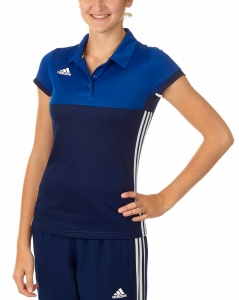 adidas T16 Clima Cool Polo Damen navy blau/royal blau AJ5476