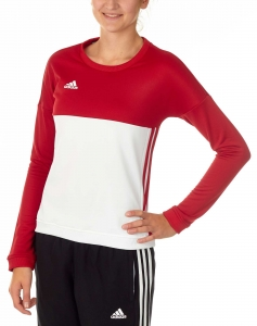 adidas T16 Team Sweater Damen power rot/weiß AJ5416