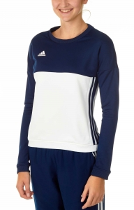 adidas T16 Team Sweater Damen navy blau/weiß AJ5415