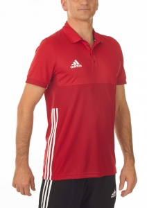 adidas T16 Clima Cool Polo Männer power rot/scarlet rot AJ5483