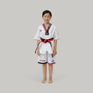 TA1003 Daedo NEW KID SUMMER DOBOK (BLUE-RED)