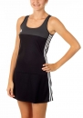 adidas T16 Clima Cool Dress Damen schwarz/grau AJ5261