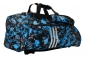 "Mobile Preview: adidas 2in1 Bag ""Taekwondo"" blue camo/silver Nylon, adiACC058T"