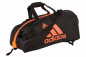 "Preview: adidas 2in1 Bag ""martial arts"" black/red Nylon, adiACC052"