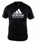 Preview: adidas Community line T-Shirt Taekwondo Performance black/white, ADICTTKD