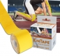 Preview: KinTape Kinesiologie Tape 5 cm x 5 m Rolle - gelb