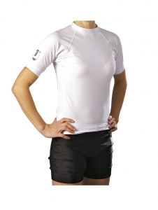 Ju-Sport Rash Guard kurzarm Under-Gi speziell für Damen