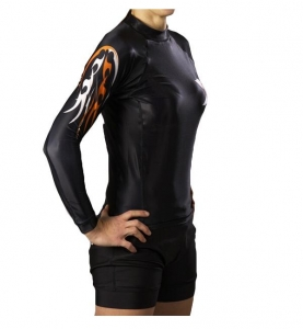 Ju-Sports Rash Guard langarm Under-Gi speziell für Damen