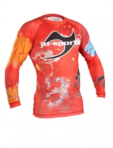 Ju-Sport Rash Guard Design C13 langarm
