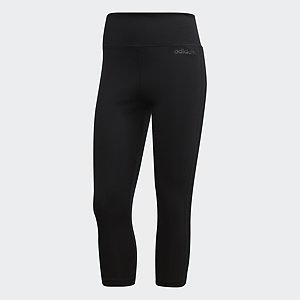 adidas Damen 3/4 Tight schwarz 13-ADIDU2043