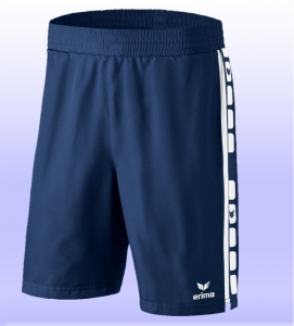 erima Short 5-CUBES new navy/weiß