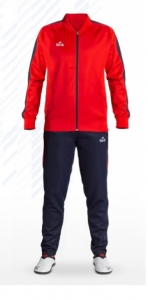 Daedo Slim Fit Tracksuit Red/Blue CH1422