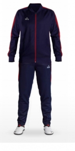 Slim Fit Tracksuit Blue/Red CH1423