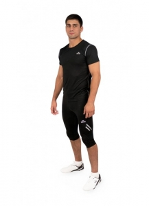 Daedo FIT4COMBAT MENS T-SHIRT BLACK FIT4 FIT1102