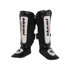 Okami fightgear DX Puppies Thai Shin Pads XXS
