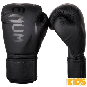 Venum Challenger 2.0 Kids Gloves - Black/Black