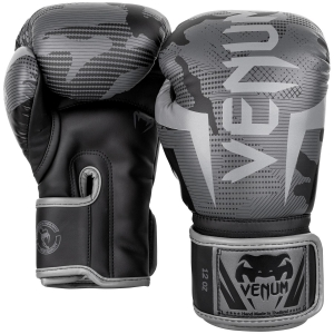 Venum Elite Gloves - Black/ Dark Camo