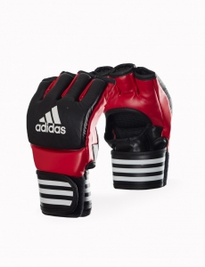 Adidas Ultimate Fight Glove - schwarz / rot