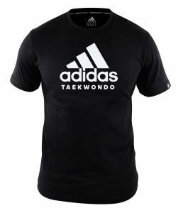 adidas Community line T-Shirt Taekwondo Performance black/white, ADICTTKD