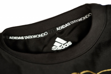 adidas Community line T-Shirt Taekwondo Speed wins black, adiTCL01