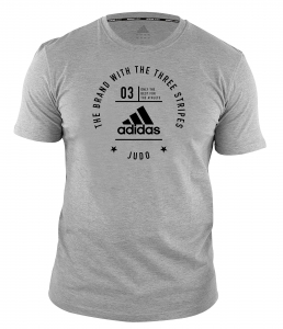 "adidas Community T-Shirt Judo ""Pro"" grey/black, adiCL01J"