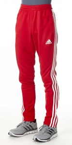 adidas T16 Team Sweat Hose Männer power rot /weiß AJ5397