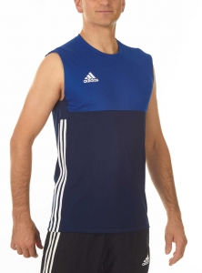 adidas T16 Clima Cool Sleeveless Tee Männer navy blau/royal blau AJ5282