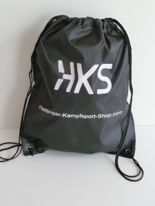 Backpack mit HKS Logo - Black