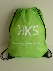 Backpack mit HKS Logo - Apple Green