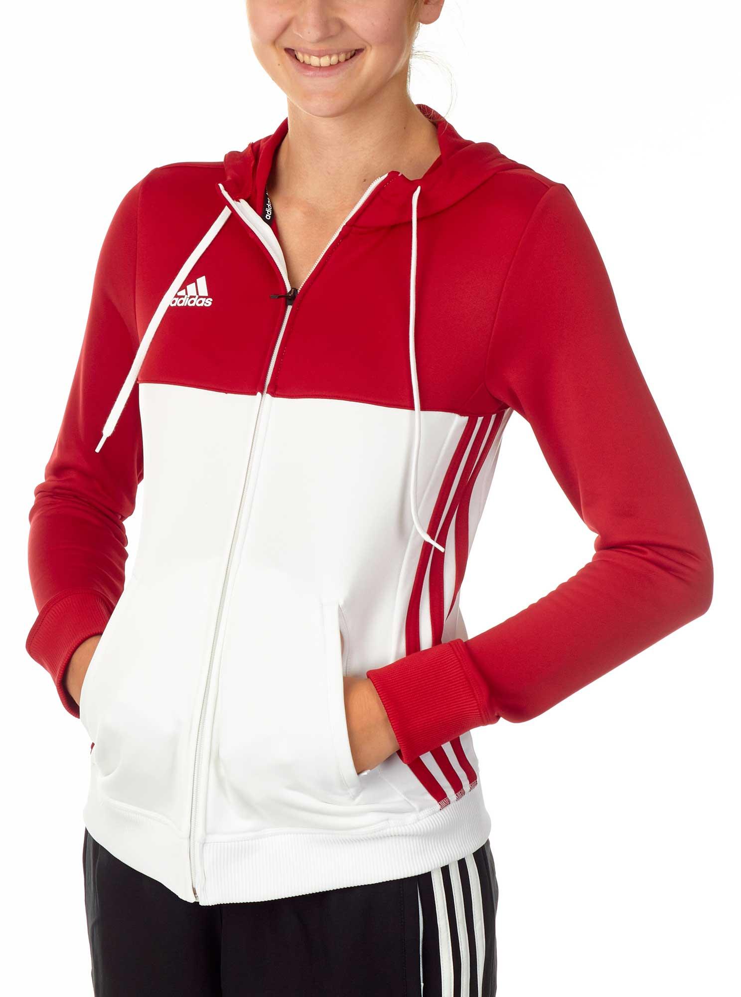 Hattinger Kampfsport Shop - adidas T16 Team Hoodie Damen power rot ... 3cdb0e63b3