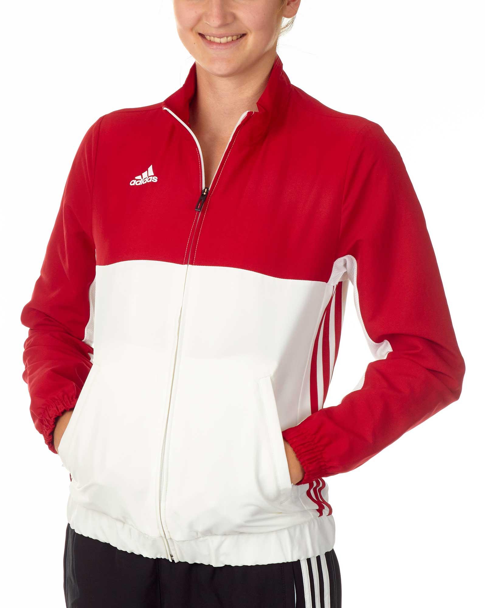 Hattinger Kampfsport Shop - adidas T16 Team Jacket Damen power rot ... 188c2bf4b7
