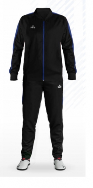 Daedo Slim Fit Tracksuit Black/Blue CH1421