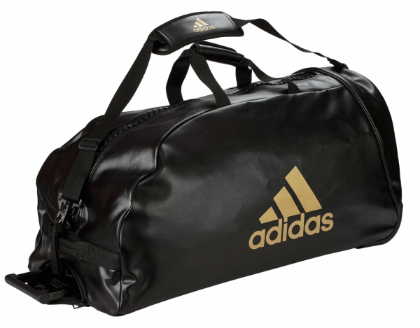 "adidas Trolley ""martial arts"" black/gold PU, adiACC056"