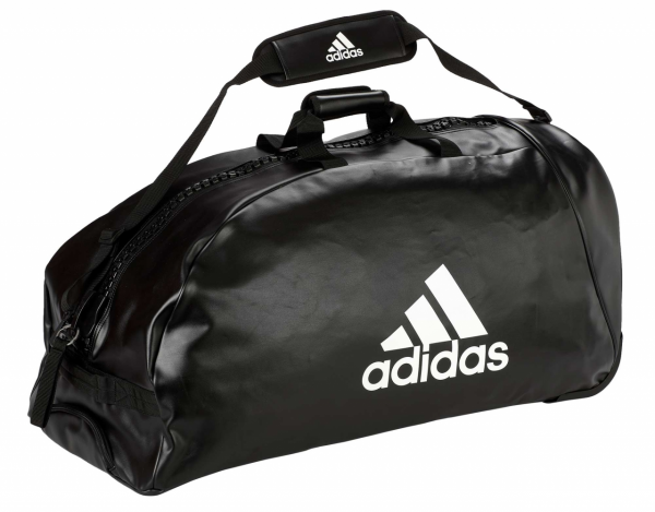 "adidas Trolley ""martial arts"" black/white PU, adiACC056"