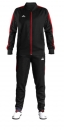 Daedo Slim Fit Tracksuit Black/Red CH1420